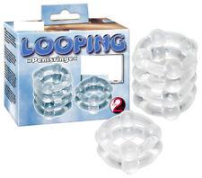 Set 2 Anelli Fallici Stimolante ritardante per pene You2Toys Penis Ring Loopin