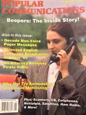 Popular Communications Magazine Decode Non Voice Pagers August 1995 012118nonrh