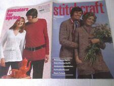 ORIGINAL, VINTAGE, STITCHCRAFT MAGAZINE,  MARCH 1971 No. 447