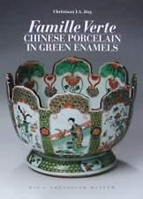 LIVRE/BOOK : FAMILLE VERTE PORCELAINE CHINOISE (chinese porcelain green enamels