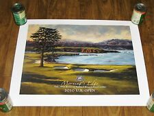 """SHELLEY A. COST PRINT """"MORNING'S EDGE"""" 2010 U.S. OPEN (22"""" X 28"""") (SIGNED)"""