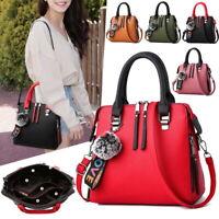 NEW Women Satchel Messenger Leather Briefcase Shoulder Bag Tote Purse Handbag DS