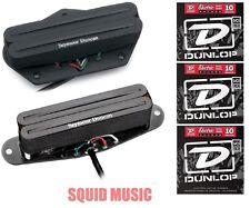 Seymour Duncan STHR-1 Hot Rails Set Telecaster Tele Fender ( 3 SETS OF STRINGS)