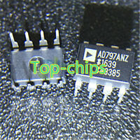 5pcs AD797AN AD797ANZ Audio OP AMP IC ANALOG DEVICES DIP-8  new