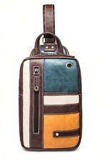 Genuine PU Crossbody Bags Men Casual Messenger Bag Designer Male Shoulder Bag