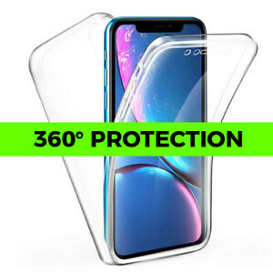 360° Clear Shockproof Silicone Phone Case iPhone SE 2 11 PRO MAX X XS XR 7 8 6