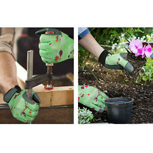 1Pairs Garden Gloves Work Breathable Gardening Gloves Outdoor Protective