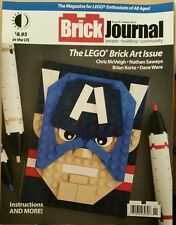 Brick Journal The Lego Brick Art Issue January 2015 FREE SHIPPING!