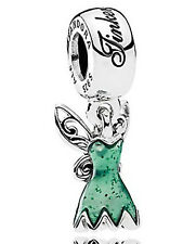Pandora Disney Tinker Bell's Dress Charm S925 ALE Genuine