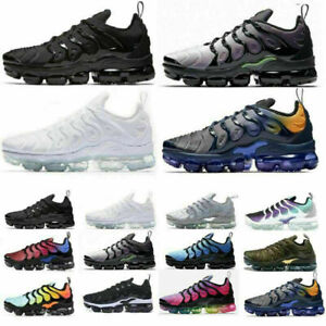 Olive In VM Running Mens Cushion Trainers TN Vapor Shoes Sneakers Air Metallic