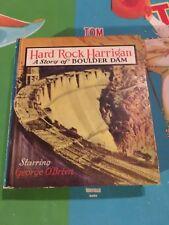 HARDCOVER HARD ROCK HARRIGAN BOULDER DAM SAALFIELD BIG LITTLE BOOK