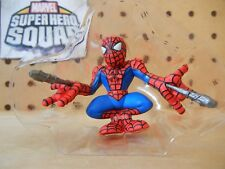 Marvel Super Hero Squad SPIDER-MAN Comic Suit Shooting Webbing - Collector's Pk2