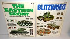 2-BOOKS Squadron/Signal Blitzkrieg plus Eastern Front op 1980/83 117 Color Illus