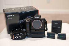 Sony Alpha 7R III 42.4 MP Digital Camera Body + Grip + 2 Z Batteries