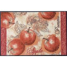 Waschbare Fussmatte Äpfel - Apple ca 50 x 75 cm wash+dry Fußabstreifer Türmatte