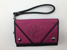 """Metal Mulisha Women's Wallet """"No Class''--Pink."""