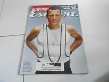 JULY 2004 ESQUIRE mens fashion magazine LANCE ARMSTRONG