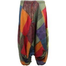 Pantalones de mujer color principal multicolor 100% algodón