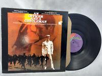 Jack Nitzsche LP An Officer and a Gentleman OST V/A Richard Gere Dire Straits