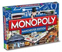 Original Monopoly Manchester Edition englisch Gesellschaftsspiel Brettspiel NEU