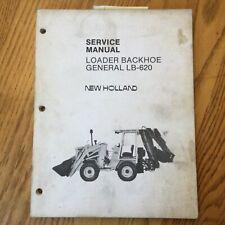 New Holland Lb 620 Loader Backhoe Tractor Service Repair Shop Manual 40062010