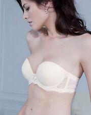 NWT Simone Perele AVANT PREMIERE Strapless Bra, sz 32E Ivory One Set of Straps