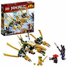 LEGO 70666 Ninjago Legacy Golden Dragon 2019 Kids Building Construction Toy Set