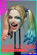 1/6 Suicide Squad Harley Quinn Head Sculpt For PHICEN Hot Toys Female Figure USA