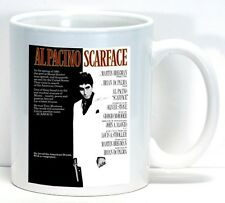 Scarface Art Gift Vintage Movie Poster Coffee Cup Mug Home Office Gift New