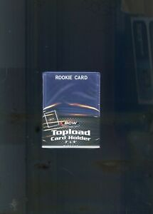 """BCW Standard White Rookie Card Trading Card Toploader (3"""" x 4"""") - Qty. 25"""