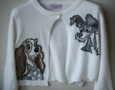 MONNALISA BABY LADY AND THE TRAMP CROPPED CARDIGAN 4 YEARS