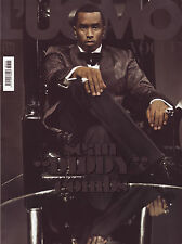 L'UOMO VOGUE #394 10/2008 SEAN DIDDY COMBS The Kiss WILL.I.AM Goran Bregovic NEW