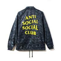 IN HAND READY TO SHIP!!!Anti Social Social Club Risk Coach Jacket Size Medium