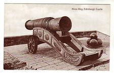 Mons Meg - Edinburgh Castle Photo Postcard c1910 / Cannon