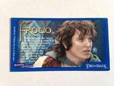 Lord Of The Rings - Bassett / Barratt Trading Cards - Frodo - Cigarette Cards