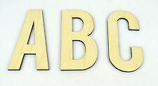 XXL En bois Lettres Alphabet/Tenture Murale/Décor Nurserie/Mur De L'alphabet