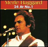 MERLE HAGGARD - 24 AT No.1 CD ~ 24 CLASSIC COUNTRY Trax ~ 70's / 80's *NEW*
