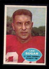 1960 TOPPS #110 LEO SUGAR EX-MT D2074