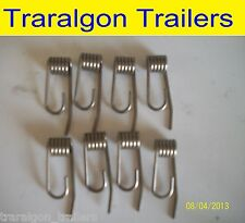 8x brake caliper pad anti rattle spring for Boat, Trailer with disc brakes D117