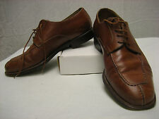 Campanile Men's Size 8 Oxford Light Brown Shoes Made in Italy 4362