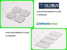 GLOBUS 8 ELETTRODI GLOBUS PREMIUM  - 1 BLISTER 50X90MM + 1 BLISTER 50X50MM
