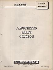 1966 Bolens Lawn Keeper Model 910-03 Parts Manual(104)