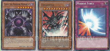 Yugioh Fiend Tournament Deck - Raviel - Tragoedia - Caius - Mirror Force - NM