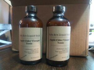 Sifu Zo's Liquid Gold apple cider vinegar tonic