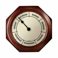 Day Of The Week Clock Analog - DAYCLOCKS Battery Operated For Seniors & Elderly