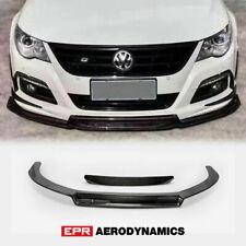 For Volkswagon 09-12 Passat CC EPA Style Carbon Front Bumper Lip Under spoiler