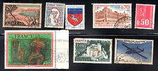stamps FRANCE A241 A360 A446 A480 A555 A702 A722 AP15 LOT