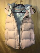 Women's Sly Baroque Japan Limited Pink Hooded Puffy Vest Small?