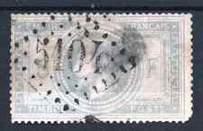 "FRANCE STAMP TIMBRE N° 33 "" NAPOLEON III 5F VIOLET GRIS "" OBLITERE A VOIR  P760"