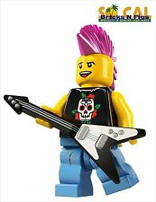 LEGO MINIFIGURES SERIES 4 8804 Punk Rocker NEW